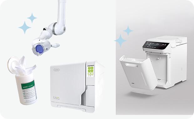 最新の機器機材を導入 徹底した感染対策を実施
